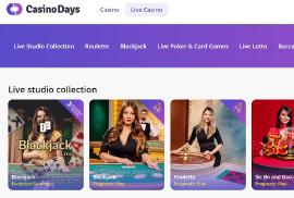 Casino Days Live Games