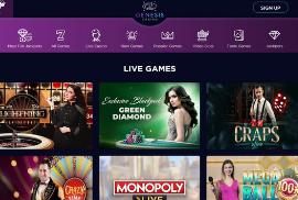 Popular Games at Genesis Casino