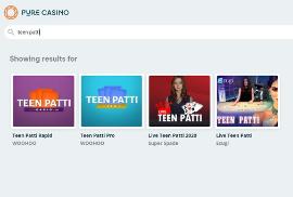Teen Patti Options