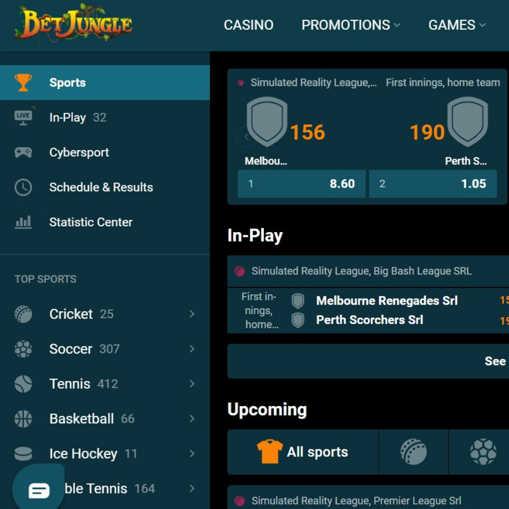 Sportsbook also available